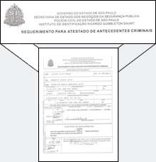 Antecedentes Criminais Brasileiro : £28